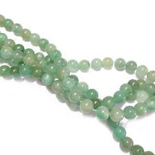Aventurin Perlen rund ca. 8 mm grün Halbedelstein 46 Stück nenad-design E027