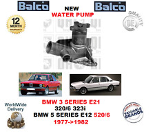FOR BMW 3 SERIES E21 320/6 323I 5 SERIES E12 520/6 1977->1982 NEW WATER PUMP