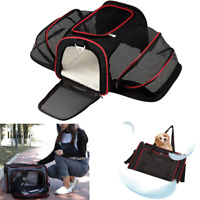 Portable Pet Puppy Cat Dog Bag Car Seat Cage Outdoor Carrier Travel Accessories