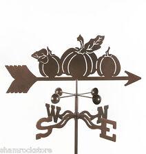 Pumpkins Weathervane - Halloween, Thanksgiving Pumpkin Vane - w/ Choice of Mount