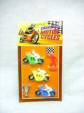 1960's Vintage carded Grand Prix Motorcycles Carded Toy Hong Kong