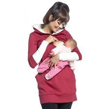 Women's Maternity Nursing Wrap Top Maternity Cotton Hoodie Breastfeeding Hoodie