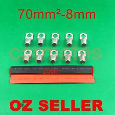 10 Lug Terminals 70-8 plus heat shrink for Car Invertor Generator 12V 24V Light