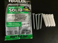 "New listing Toggler Alligator A10 Anchor w/Screw, Plastic, 3/8"" Diameter, 1-7/8"" Length, #10"