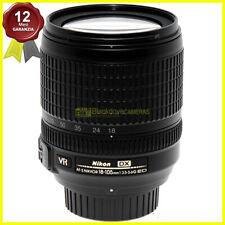 Nikon AF-S Nikkor 18/105mm f3,5-5,6 G DX VR obiettivo per fotocamere digitali