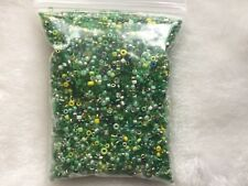 Wholesale 6800pcs Lot Bulk 11/0 Glass Seed Bead 100g AWESOME DEAL Green Mix