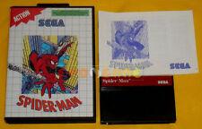 SPIDER-MAN Sega Master System Versione Italiana Spider Man »»»»» COMPLETO