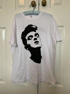 Morrissey 2015 UK Tour T Shirt Size Large
