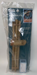 Bamboo Accents Water Spout And Pump Fountain Kit– 18 inch, 3 Arm