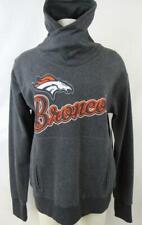 Denver Broncos Womens Medium Embroidered Pullover Cowl Neck Sweatshirt ADEB 83