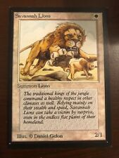SAVANNAH LIONS Collector's Edition Magic the Gathering MTG Old School CE