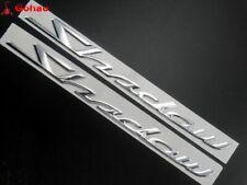 3D Tank Decal Emblem Sticker For Honda Shadow Spirit Sabre Aero ACE VT750 Silver