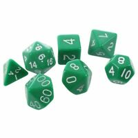 Set 7PCS De Dice Die D4~D20 a Jeux DUNGEONS & DRAGONS RPG Donjons et Dragons f4