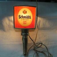 Vintage 1960 Schmidt/'s of Philadelphia Light Beer Tap by Clearfloat Tap NOS
