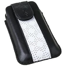 XiRRiX Vertikal Tasche Etui Handy Schutz f. HTC HD mini