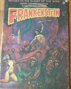 Castle of Frankenstein Vol.6 No.23  Gothic Castle Pub. 1974 Comic Magazine