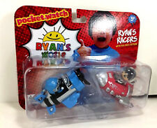 NEW Ryan's World RACERS 2-Pack Blue Plane SKY FIGHTER Red ROCKET SHIP Space Car