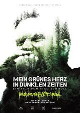 MEIN GRÜNES HERZ IN DUNKLEN ZEITEN - Orig.Kino-Plakat A1 - HEAVEN SHALL BURNS