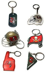 TAMPA BAY BUCCANEERS NFL FOOTBALL KEYCHAIN BACKPACK PULL  LICENSED  - YOU CHOOSE