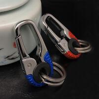 Smart Key Ring Alloy Metal Car Keyring Holder Organiser Chain Heavy Duty Gift !