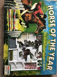 HORSE OF THE YEAR THE SHOW BOARD GAME BY PARKER - PALITOY.