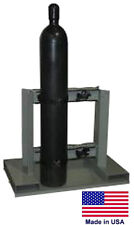 CYLINDER STAND PALLET for Propane Welding Gases Compressed Air - 4 Tank Capacity