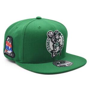 Boston Celtics 1986 NBA Finals Champions Mitchell & Ness Dynasty Fitted HWC Hat