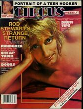 Rod Stewart Todd Rundgren The Doors Cheap Trick Circus Magazine Jan 1979