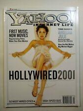 Yahoo Internet Life magazine - April 2001 - Angelina Jolie cover