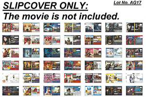 Slipcover Only (Lot No. AG17): for Blu-ray