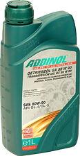 ADDINOL Getriebeöl GX80W90 1 Liter SAE 80W-90 GL-4 GL-5 MT1 1L