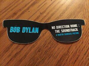 BOB DYLAN NO DIRECT HOME:,THE SOUNDTRACK  PROMO STICKER