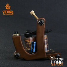 Professional Handmade Copper Frame Custom Tattoo Machine Gun For Shader or Liner