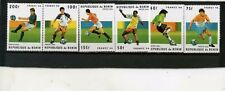 BENIN 1996 FOOTBALL COUPE DU MONDE FRANCE Ensemble de 6 Timbres MNH