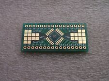 5x Adapterplatine QFP32 0.8mm 12F auf DIP32 Raster 2,54mm (0.9) FR4 (ENIG)