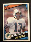 MINT 1984 Topps DAN MARINO Rookie Football #123 Dolphins Centered, Sharp corners