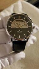 Edox Les Vauberts Open Heart Swiss Made Automatic Men's Watch 85006 3 NIN