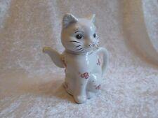 Vintage Porcelain Cat Teapot/Creamer