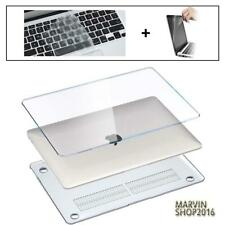 """For MacBook 11"""" 12"""" 13"""" 15"""" Crystal Case Cover + keyboard Skin +Screen Protector"""