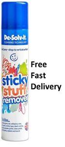 De-Solve-it Sticky Stuff Remover Gel Spray Chewing Gum Label Residue Tar etc.+++