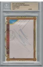 2011 ANDY RODDICK LEAF CUT SIGNATURE EDITION CUT AUTO TRUE 1/1 BGS ENCASED NICE!