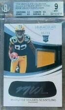 MARQUEZ VALDES SCANTLING 2018 Immaculate RPA RC PATCH BGS 9 / 10 AUTO  PACKERS