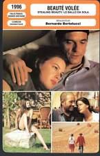 BEAUTE VOLEE - Irons,Tyler,Bertolucci (Fiche Cinéma) 1996 - Stealing Beauty