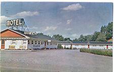 Picardie Diner & Motel 25 Miles West Of Montreal Postcard 1957