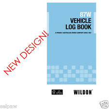 Vehicle Long Book 87W Blue By Wildon WIl087