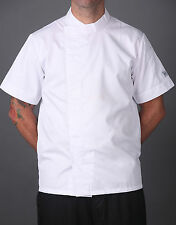 PRICE REDUCTION!! CHEF JACKET LIGHTWEIGHT, MODERN STYLE, SHORT/ LONG SLEEVE!