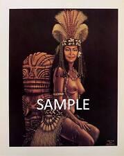 Polynesian Print by Artist Louis Behan - Heiva