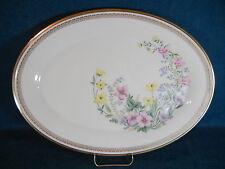 """Lenox Flower Song 16 1/4"""" Oval Serving Platter"""