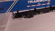N-Scale Trainworx #28521-12 Wp 85' Flate Car Western Pacific Car No. 1123