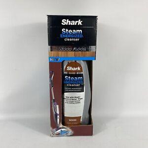 Shark Steam Energized Wood Floor Cleanser Non-Toxic Non-Streak Mop Cleaner 20 Oz